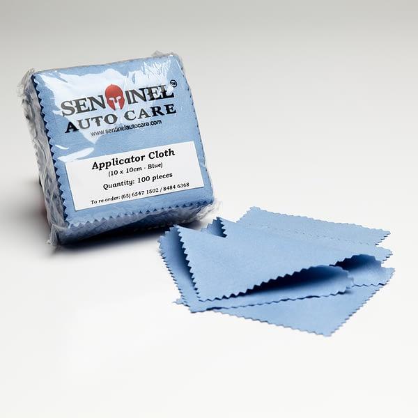 Sentinel Applicator Sealed Edges Cloth 10cm x 10cm min
