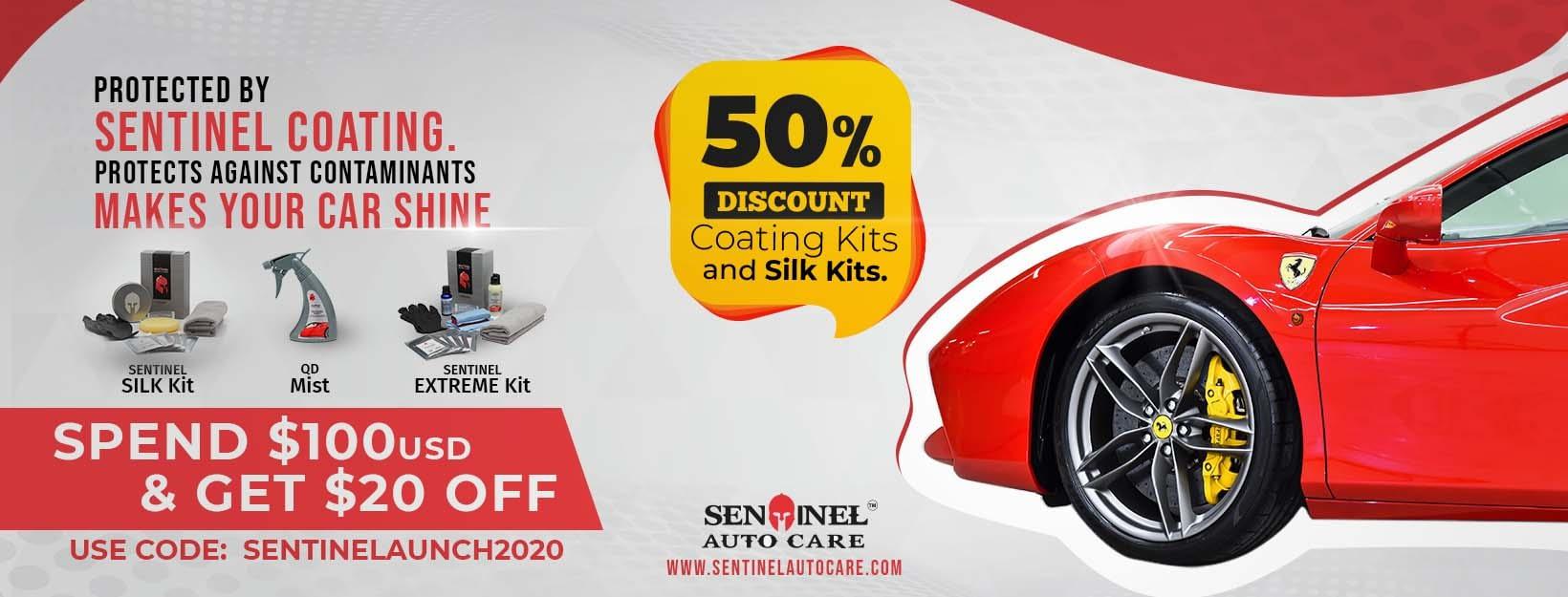 Sentinel Autocare Promotion